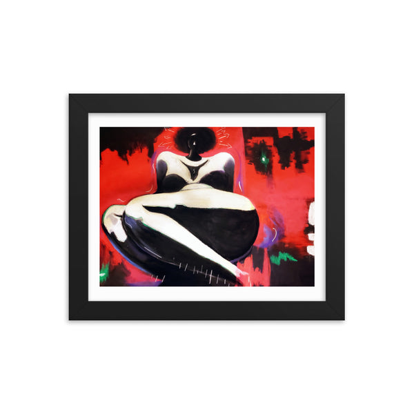 Framed Print -The Enigmatic One