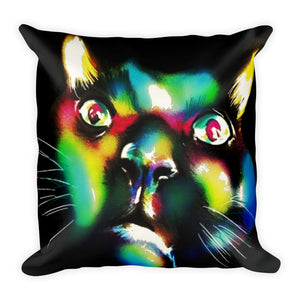 The Colored Cat - PILLOW & CASE