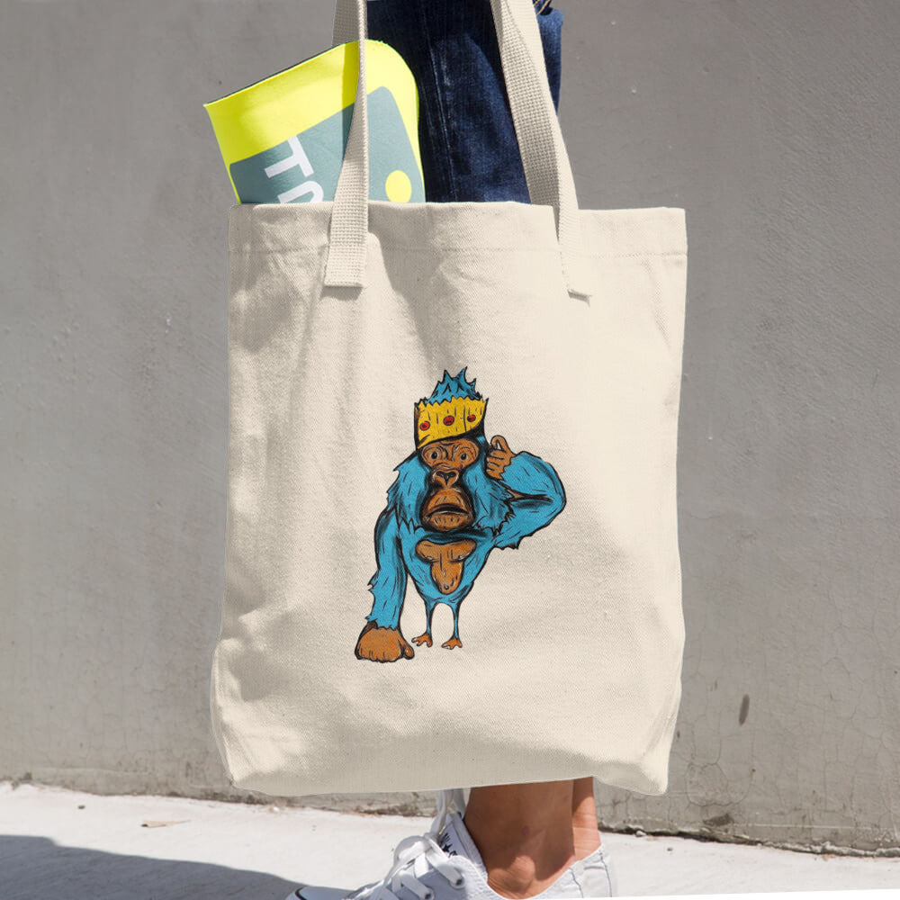 Lost King - Cotton Tote Bag