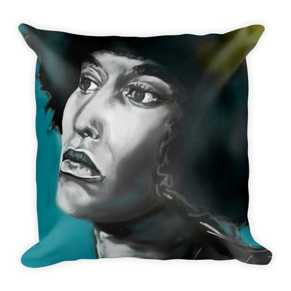Angela in Aqua- PILLOW & CASE