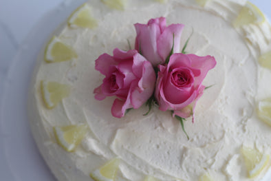 Lemon & Elderflower Celebration Cake
