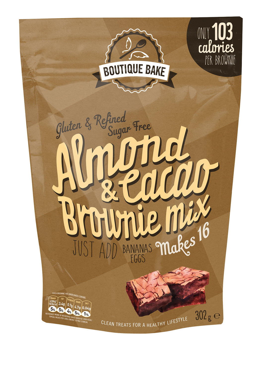 Almond & Cacao Brownie Mix - 6 units for the price of 5!