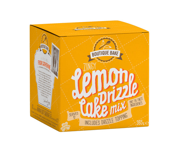 Lemon Drizzle Cake Mix - 12 units for the price of 10!