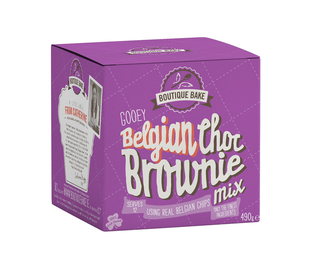 Belgian Choc Brownie Mix - 490g