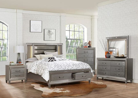 Tamsin - Champagne Gray King Bedroom Set