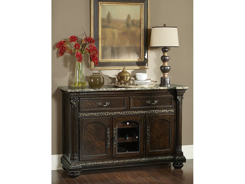 Russian Hill Server By Homelegance Marlo Furniture