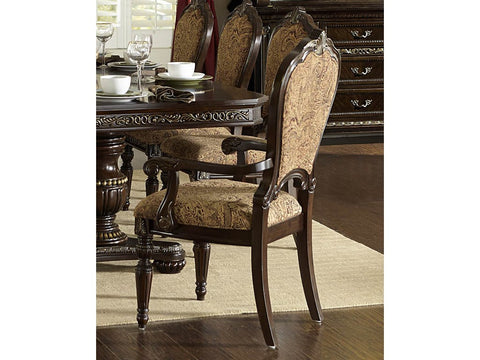 Find Homelegance Russian Hill Cherry Arm Chair at Marlo Furniture