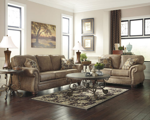 Find Ashley Larkinhurst Earth Sofa and Loveseat at Marlo Furniture