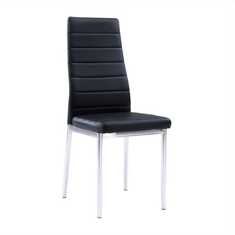 Find Global Furniture USA D368 Dom Only Black Dining Chair at Marlo Furniture