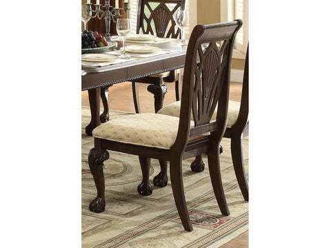 Find Homelegance Norwich Warm Cherry Side Chair at Marlo Furniture