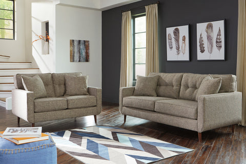 Find Ashley Chento Jute Sofa and Loveseat at Marlo Furniture