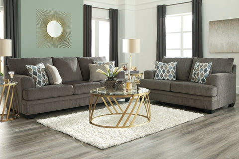 Dorsten Slate Sofa Loveseat & Chair