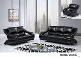 Bond Black  Living Room Set