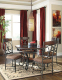 Glambrey Table & 4 Side Chairs