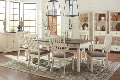 Bolanburg Antique White Table And 4 Side Chairs