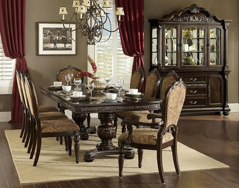 Find Homelegance Russian Hill Cherry Dining Room Set at Marlo Furniture