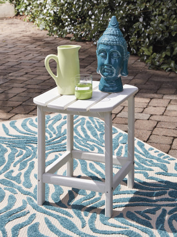 Sundown Treasure White End Table