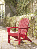 Sundown Treasure Red Adirondack Chair