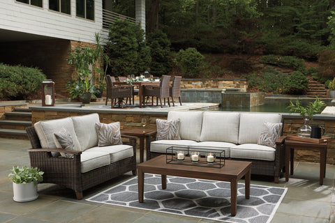 Paradise Trail Sofa and Loveseat