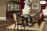 Russian Hill Table, 6 Side Chairs, 2 Arm Chairs, China & Buffet