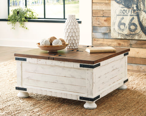 Wystfield Storage Trunk Cocktail Table