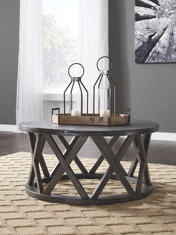 Sharzane Round Cocktail Table