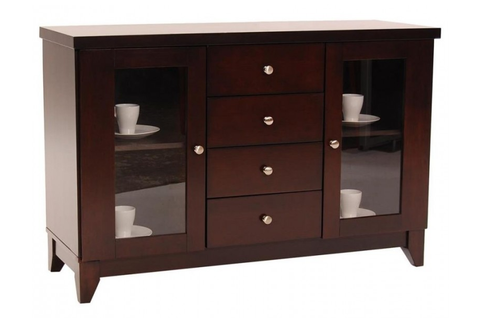 Find Homelegance Furniture Daisy Dark Brown Server at Marlo Furniture