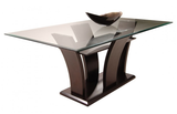 "Find Homelegance Furniture Daisy 72"" Glass Rectangular Table at Marlo Furniture"