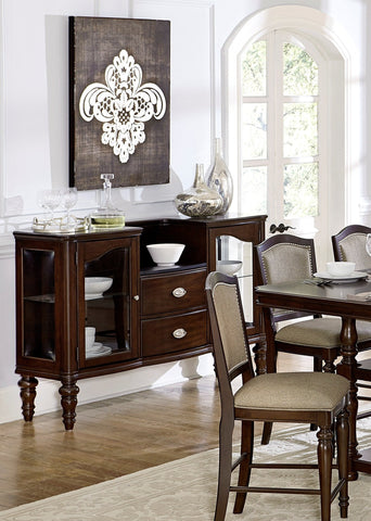 Find Homelegance Furniture Marston Dark Cherry Server at Marlo Furniture