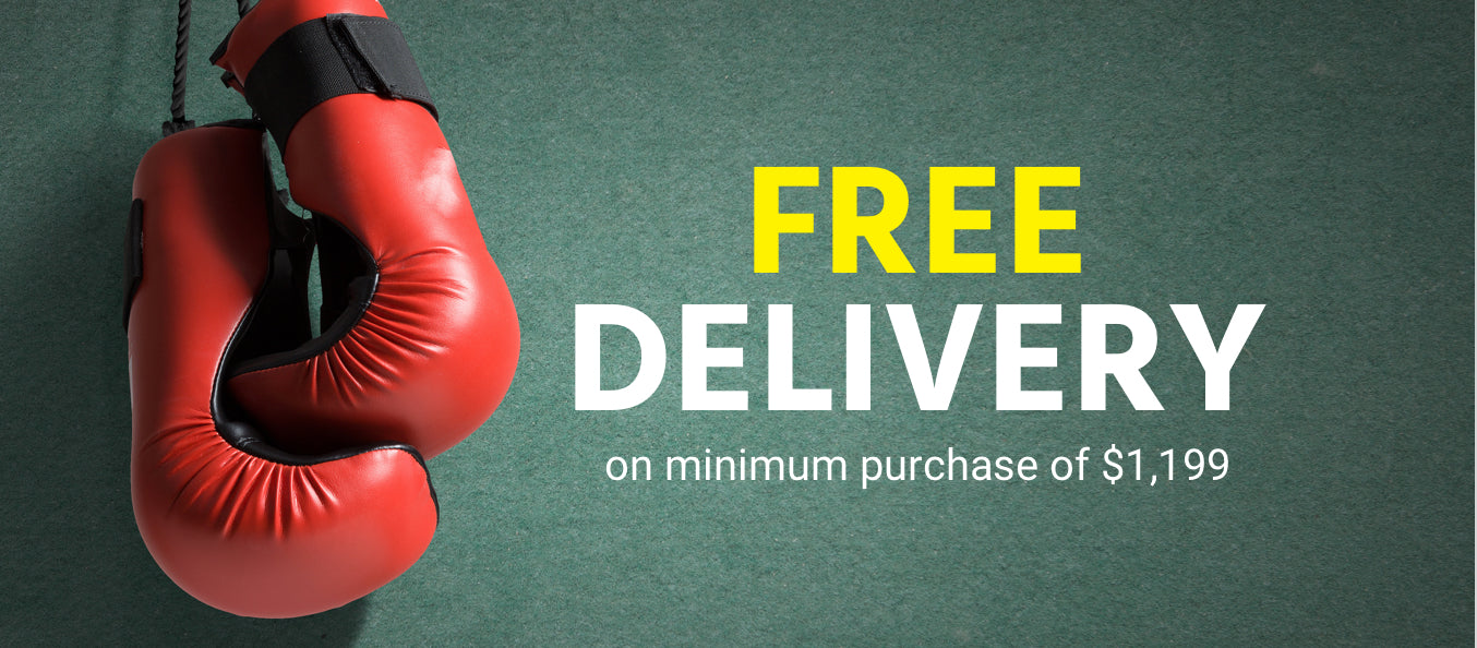 Free delivery on purchase of $1,799 and above