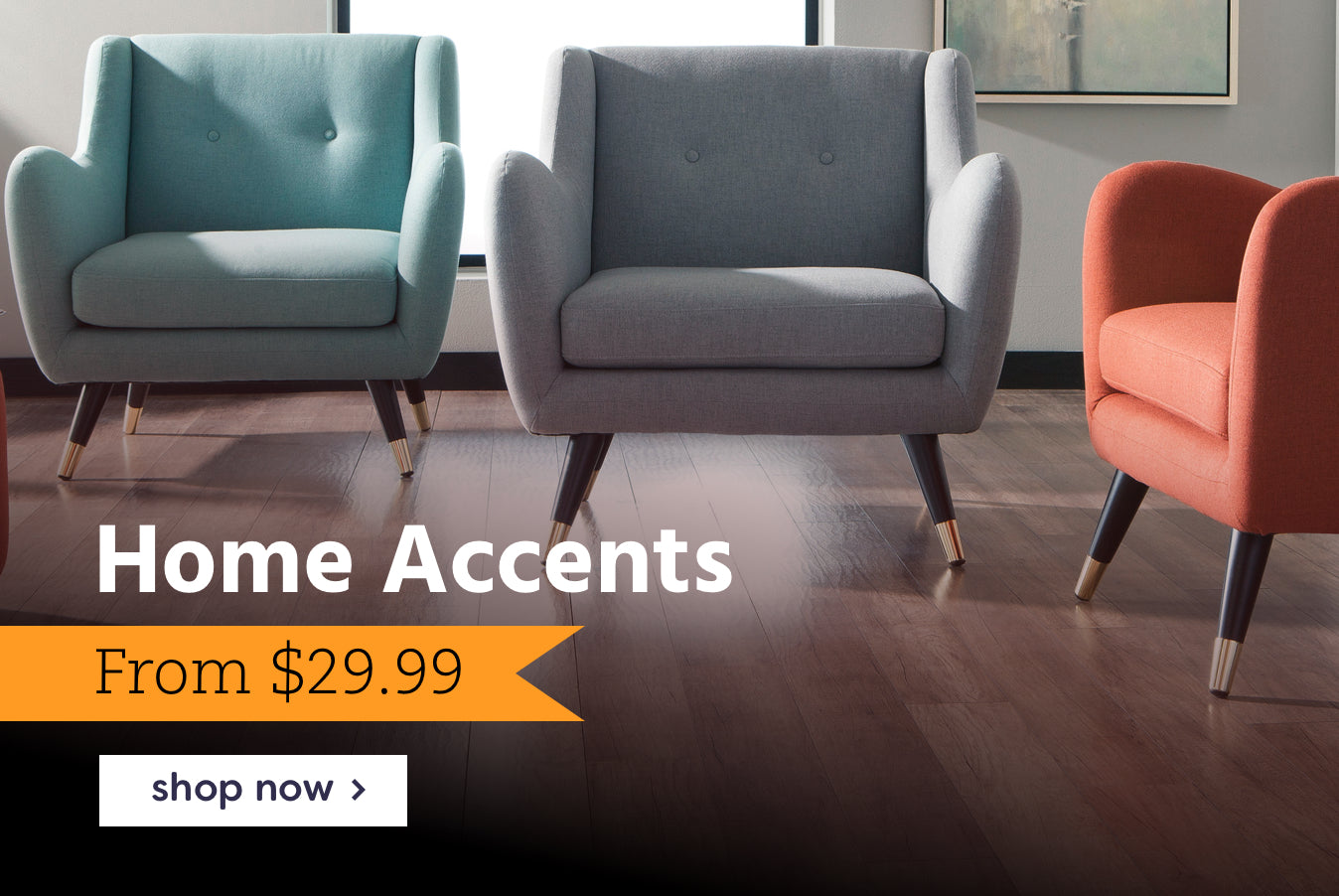 home accents from $29.99