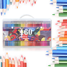 160 Colors Oil Based Pencils Safe Non-toxic Colored Pencils Set For Sketching