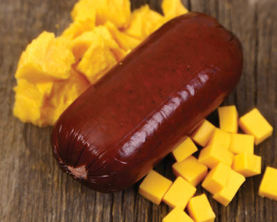 Cheddar Cheese Buffalo Sausage - Refrigerated