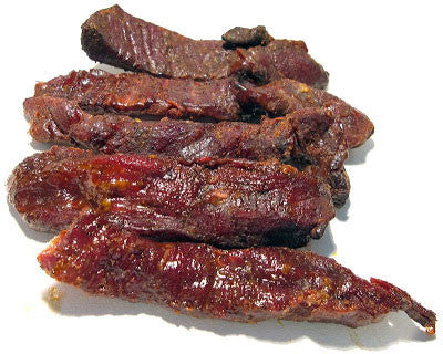 Ostrich Exotic Jerky - Refrigerated