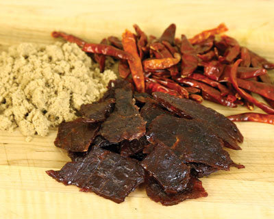Sweet-N-Spicy Beef Jerky