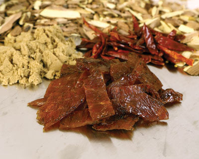 Sweet-N-Spicy Turkey Jerky