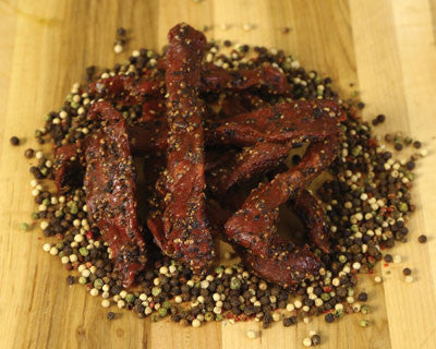 Peppercorn Beef Jerky - Refrigerated