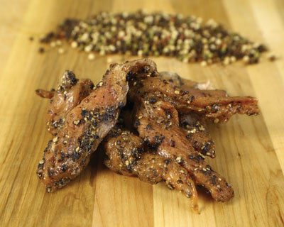 Peppercorn Turkey Jerky - Refrigerated
