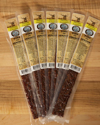 Teriyaki Venison Extruded Flat Exotic Jerky
