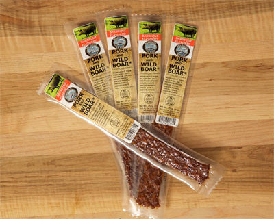 BBQ Wild Boar Extruded Flat Exotic Jerky