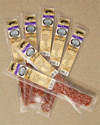 Ostrich Extruded Flat Exotic Jerky