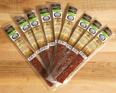 Cajun BBQ Alligator Extruded Flat Exotic Jerky