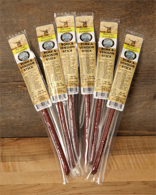 Teriyaki Venison Exotic Snack Sticks