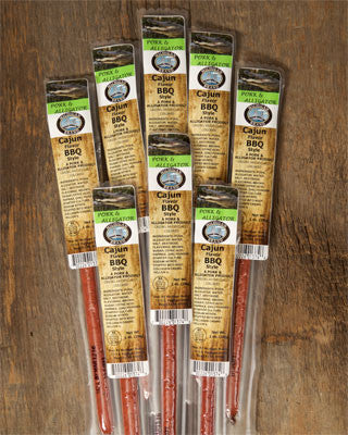 Cajun BBQ Alligator Exotic Snack Sticks