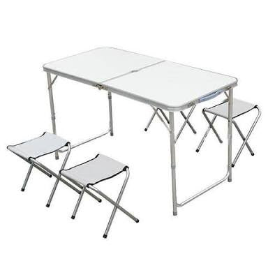 Portable / Handy Table for Outdoor activities with 4-chairs