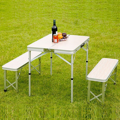 Portable Table with 4-chairs embeded inside ( High Quality )