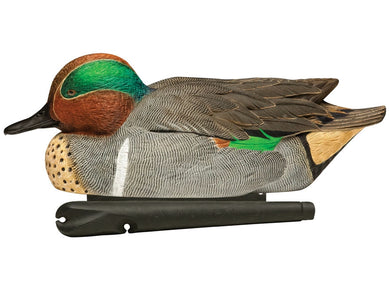 Green Wing Teal Ducks Decoys for Hunting (Pair)