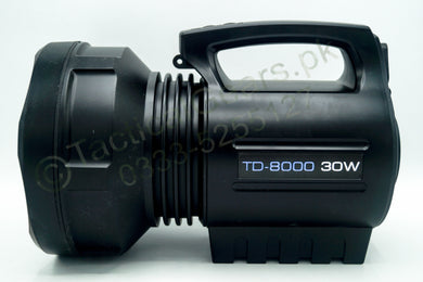 30W - Torch Light for Hunting # 02 ( Heavy Battery ) 2-KM Range