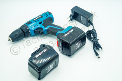 Portable Electric Drill with 2*Batteries & 25+ Tools