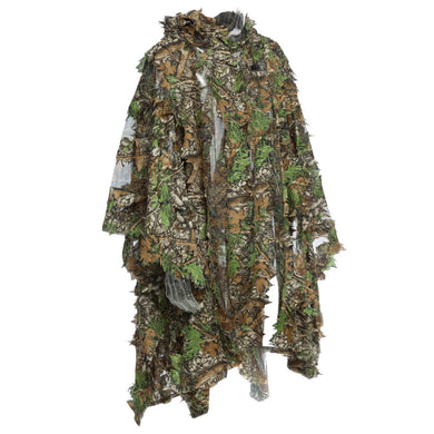 Leaf Camo Long Jacket for Hunting